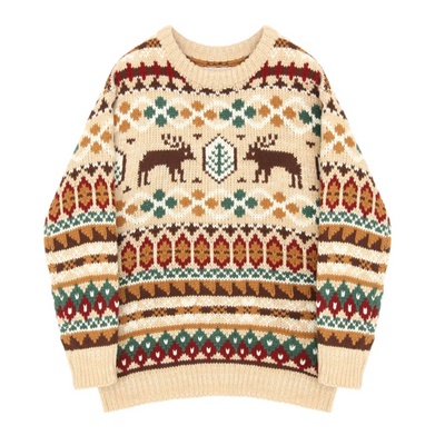 Ugly Christmas Sweater Autumn Women - SURPRISEYOU