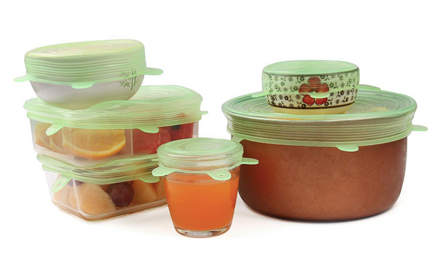 Zero-Waste Reusable Food and Container Lids - 6pcs - SURPRISEYOU