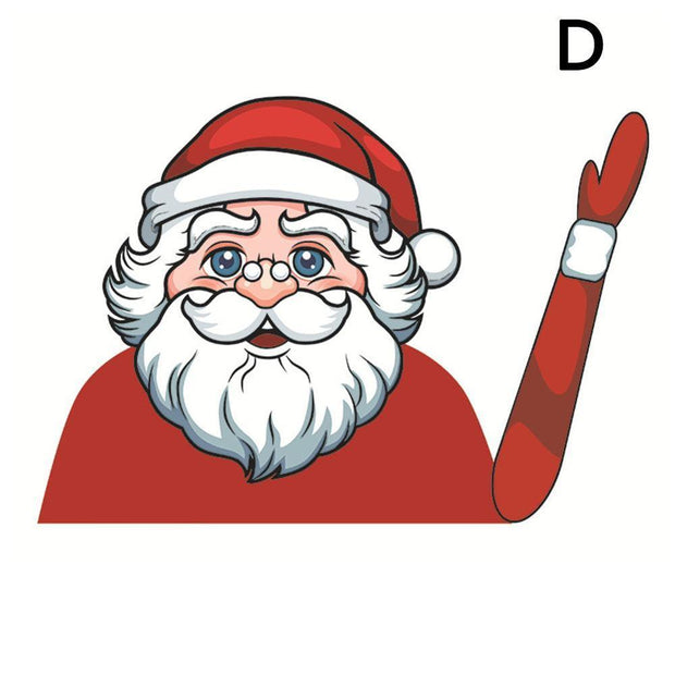 Christmas Wiper Car Sticker - SURPRISEYOU