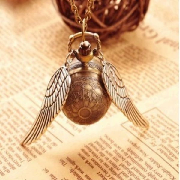 Harry Potter Golden Snitch Necklace/Watch - SURPRISEYOU
