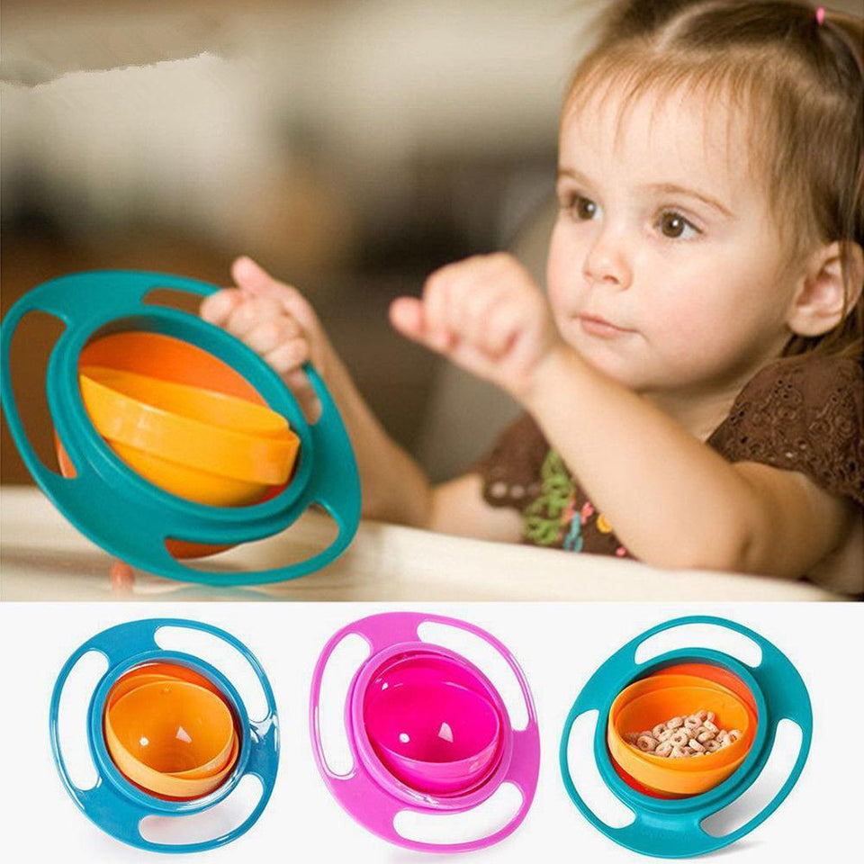 360° Spill-proof Baby Bowl - SURPRISEYOU