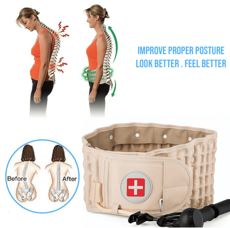 SURPRISEYOU - Decompression Back Belt Enjoy Happy Life withou Back Pain