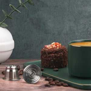 SURPRISEYOU - RefillCoffee™ -Reusable Stainless Steel Coffee Capsule for Nespresso