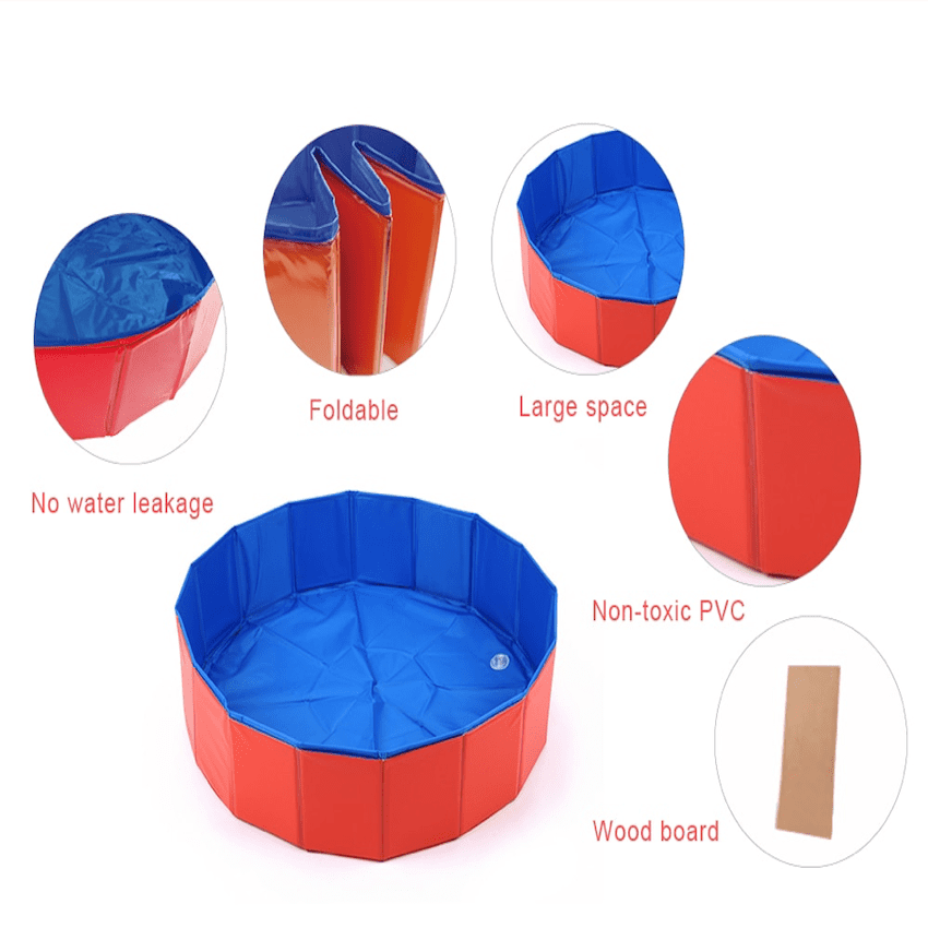 SURPRISEYOU - Resistant Paw Pool Details Red
