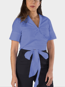 Made-to-order Arriaga Wrap Top