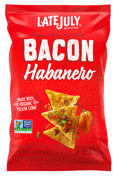 Late July Bacon Habenero Chips