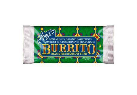 Amy's Bean and Rice Burrito