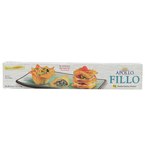 Apollo Phyllo Pastry Sheets