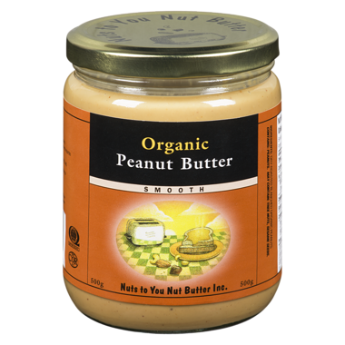 Nuts to You Smooth Organic Peanut Butter