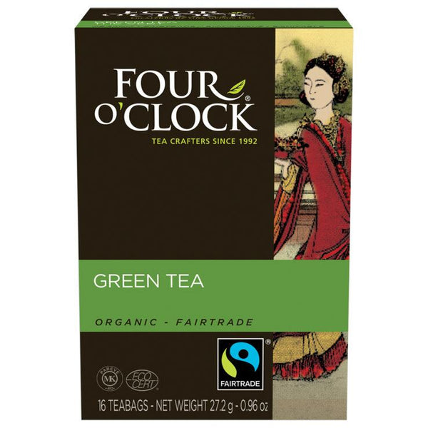 Four O' Clock Teas Organic Green
