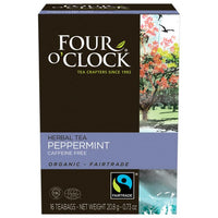 Four O' Clock Teas Organic Peppermint
