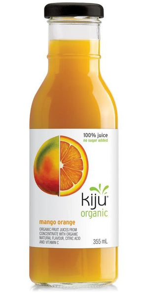 Kiju Organic Mango Orange Juice Bottle