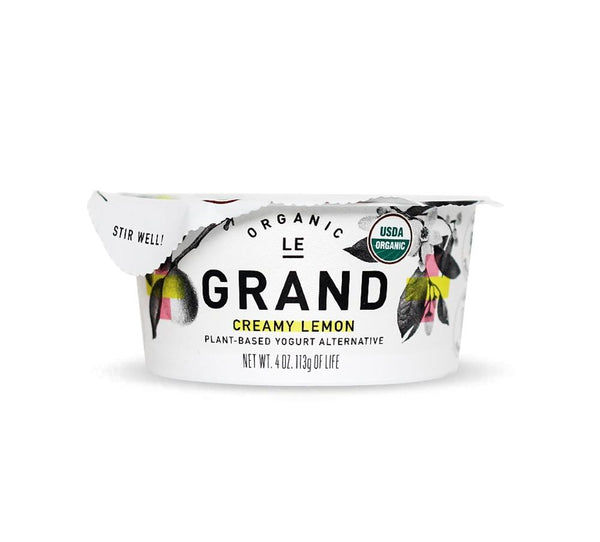 Le Grand Organic Lemon Yogurt Cup