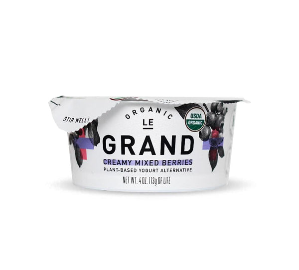Le Grand Organic Mixed Berry Yogurt Cup