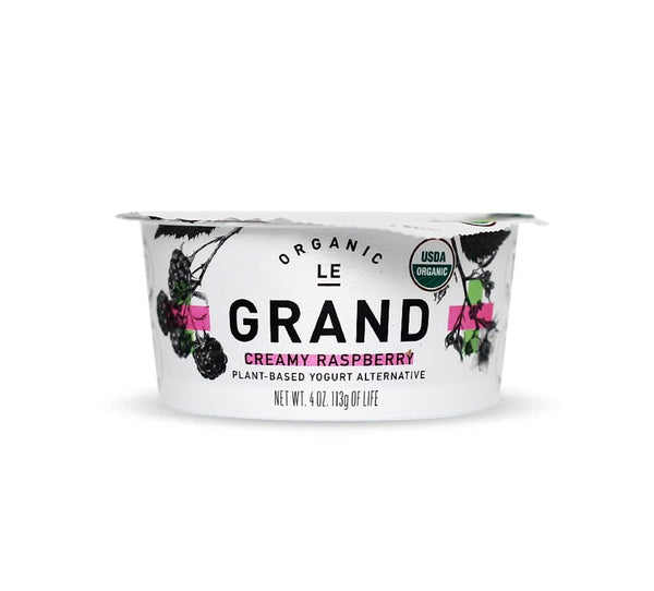 Le Grand Organic Raspberry Yogurt Cup