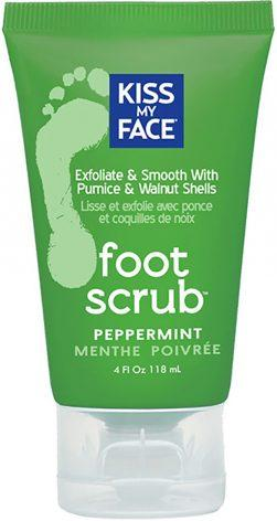Kiss My Face Lotion Foot Scrub