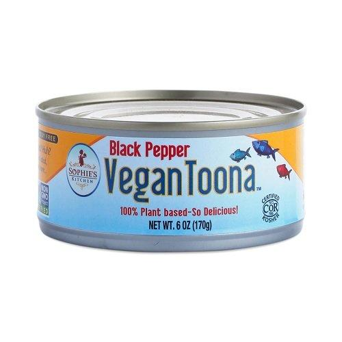 Sophie's Kitchen Vegan Canned Toona Black Pepper