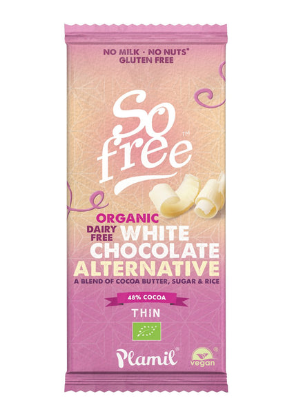So Free Organic White Chocolate Bar