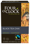 Four O' Clock Teas Organic Chai Black Tea