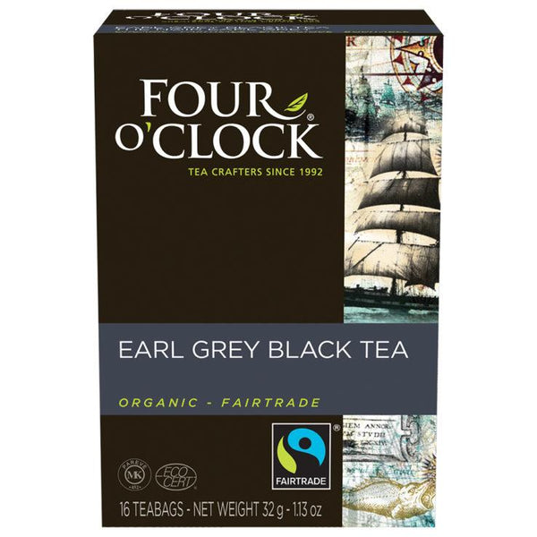 Four O' Clock Teas Organic Earl Grey