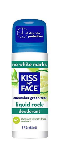 Kiss My Face Cucumber Green Tea Roll On Deodorant