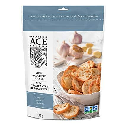 Ace Mini Crisps Roasted Garlic
