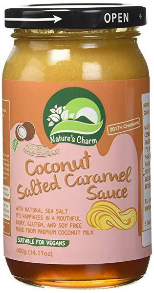 Nature's Charm Salted Caramel Sauce