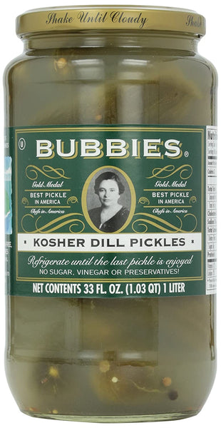 Bubbie's Dill Pickles