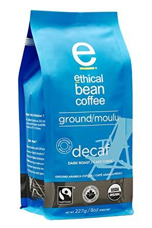 Ethical Bean Coffee Decaf Ground