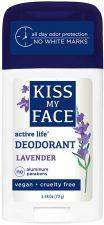 Kiss My Face Lavender Active Deodorant