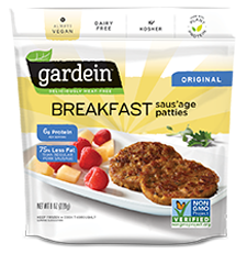 Gardein Original Breakfast Sausage Patties