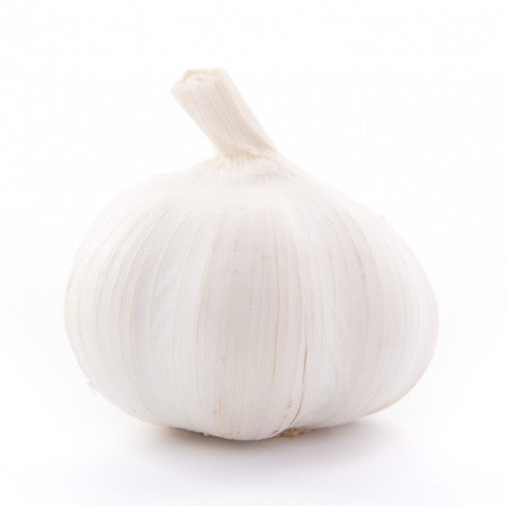 2 Bulbs Organic Garlic