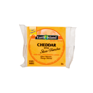 Earth Island Cheddar Slices