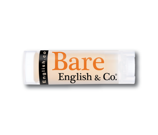 Bare English Organic Lip Balm Caramel Popcorn