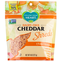 Earth Island Gourmet Shreds Cheddar