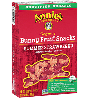 Annie's Homegrown Summer Strawberry Fruit Snacks