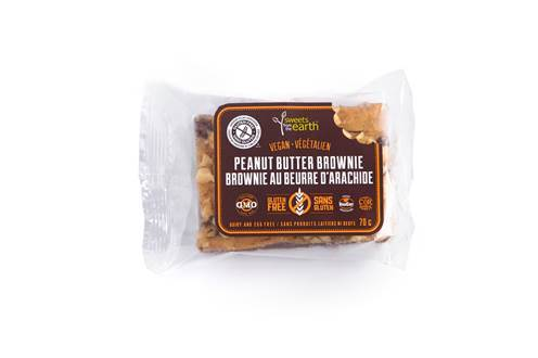 Sweets from the Earth Peanut Butter Brownie