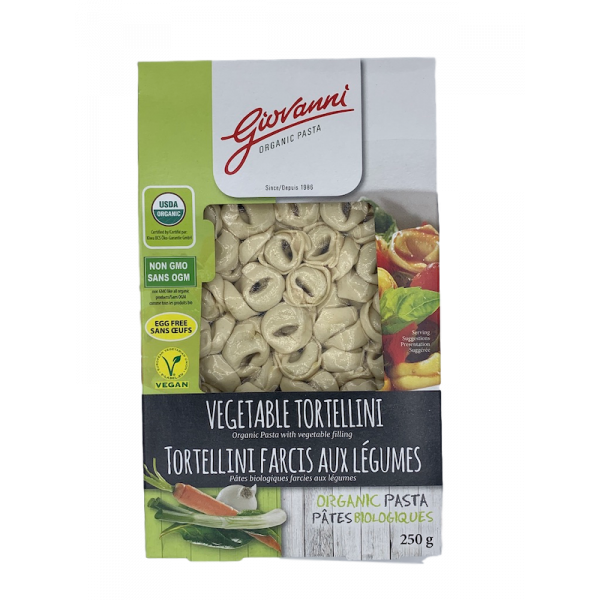 Giovanni Organic Vegetable Tortellini