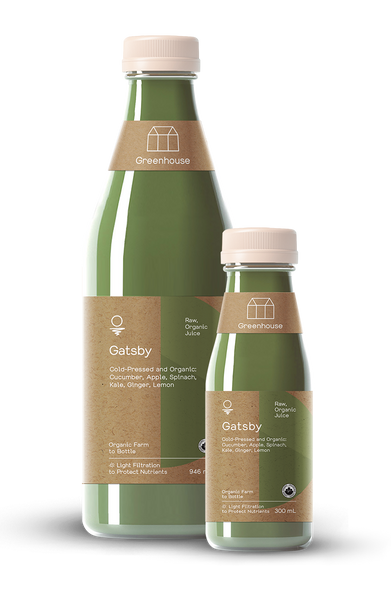 Greenhouse Cold-Pressed Juice Gatsby