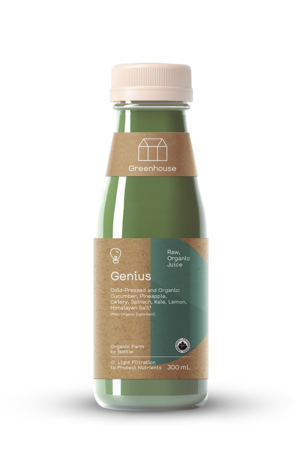 Greenhouse Cold-Pressed Juice Genius