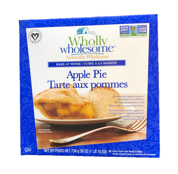 Wholly Wholesome Apple Pie