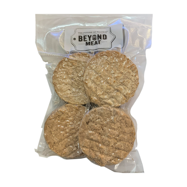 Beyond Meat Restaurant Quality Burgers 4 Pack