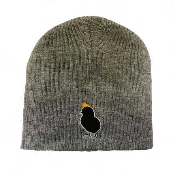 Good Rebel Logo Toque in Heather Grey
