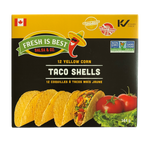 Fresh Is Best Yellow Corn Taco Shells