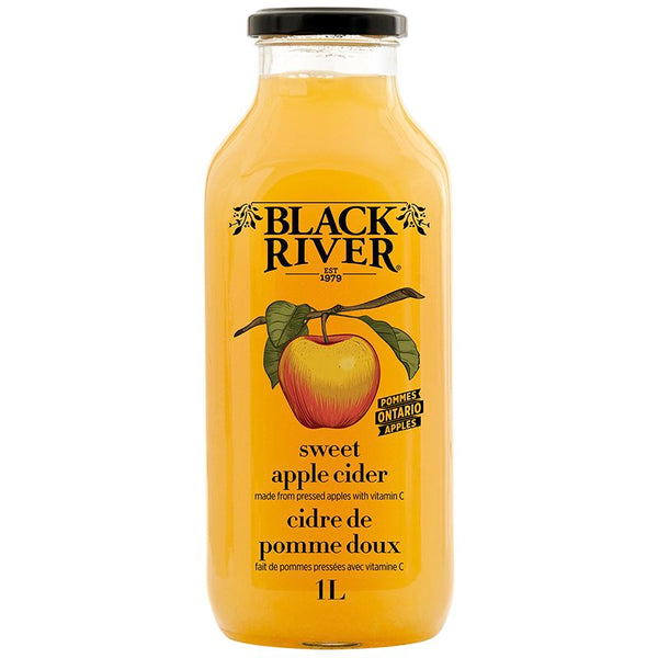 Black River Sweet Apple Cider 1L