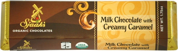 Sjaak's Melk Chocolate Creamy Caramel Bar