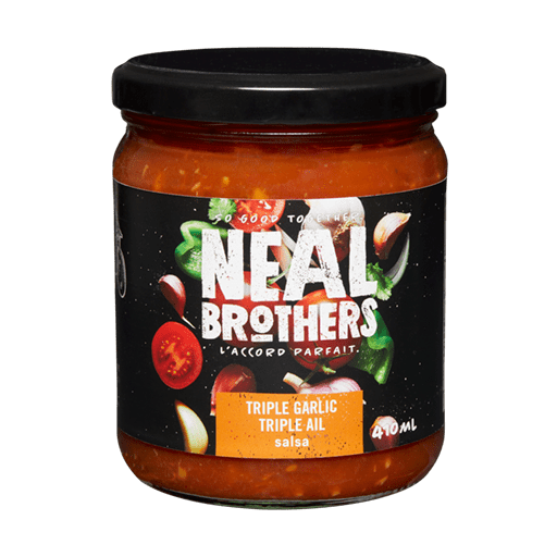 Neal Brothers Triple Garlic Salsa