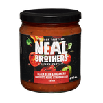 Neal Brother's Black Bean and Habanero Salsa