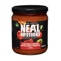 Neal Brothers Black Bean and Habanero Salsa