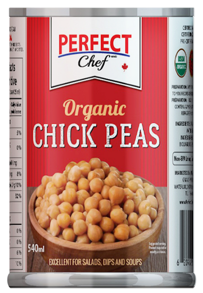 Perfect Chef Organic Chickpeas